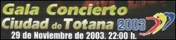 Gala Concierto Ciudad Totana